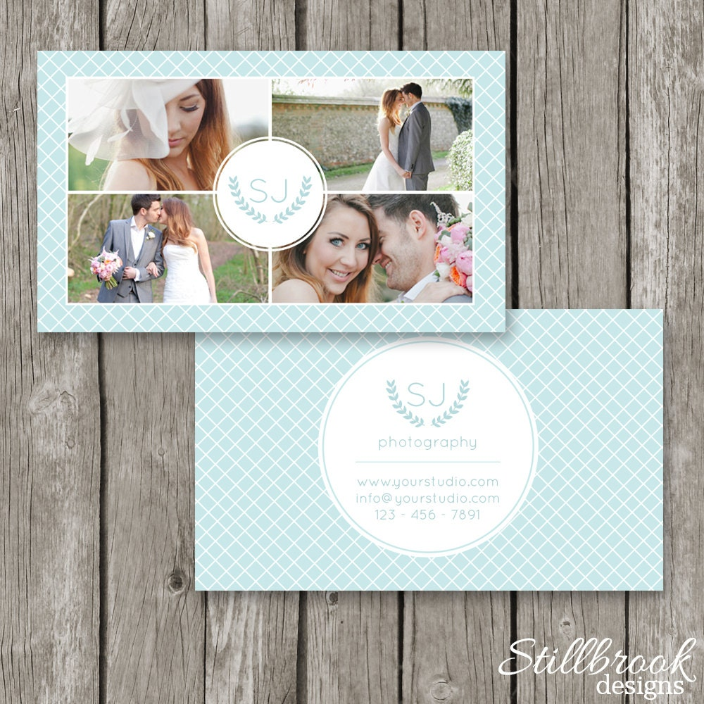 Photography Business Cards Business Card Template for
