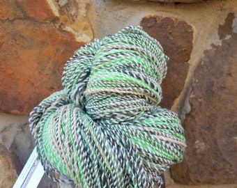 Finally spring  Handspun merino wool yarn 256 yards