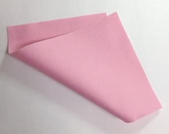 "8"" x 12"" Carnation Pink 100% Merino Wool Felt"