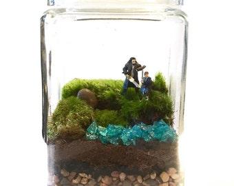 The Hobbit Inspired Terrarium // You Choose Your Minis!