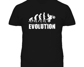 Evolution Of Motorcycle Motorbike Cool T Shirt