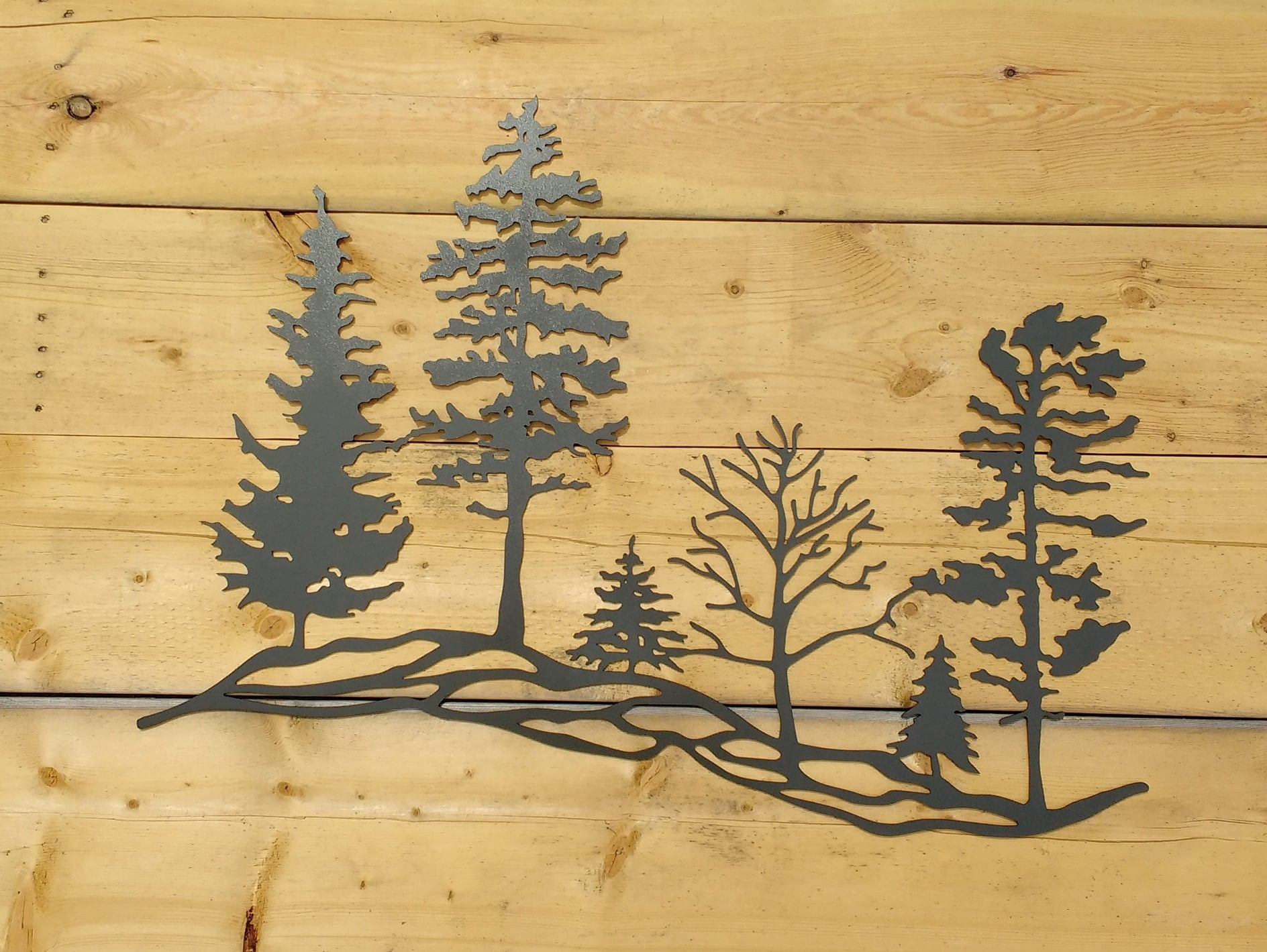Unusual Trees Metal Wall Art Gallery - The Wall Art Decorations ...