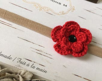 PIN or headband / baby girl / hair accessories / Baby girl Hairband / Hair accessories / remembrance day / Remembrance Day