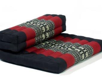 100% Organic Kapok Meditation Pillow / Mediation Cushion / Reading Pillow / Triangle Lounge Chair / Asian Lounger