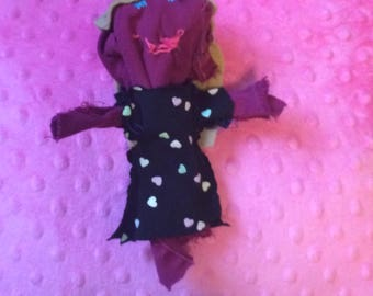 Fancy Corn Husk Inspired Doll