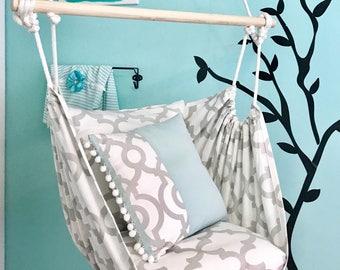 Hammock Chair, Hammock Swing, Nursing Swing, Sensory Play, Indoor/Outdoor,