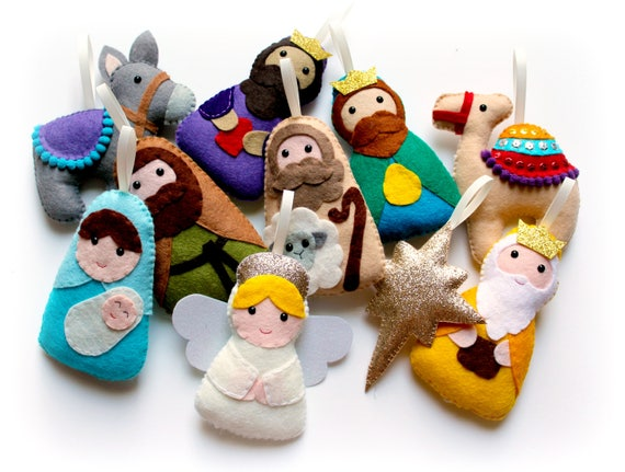 Christmas Nativity Garland