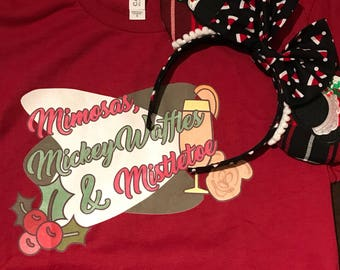 Santa Mickey Plaid Ears