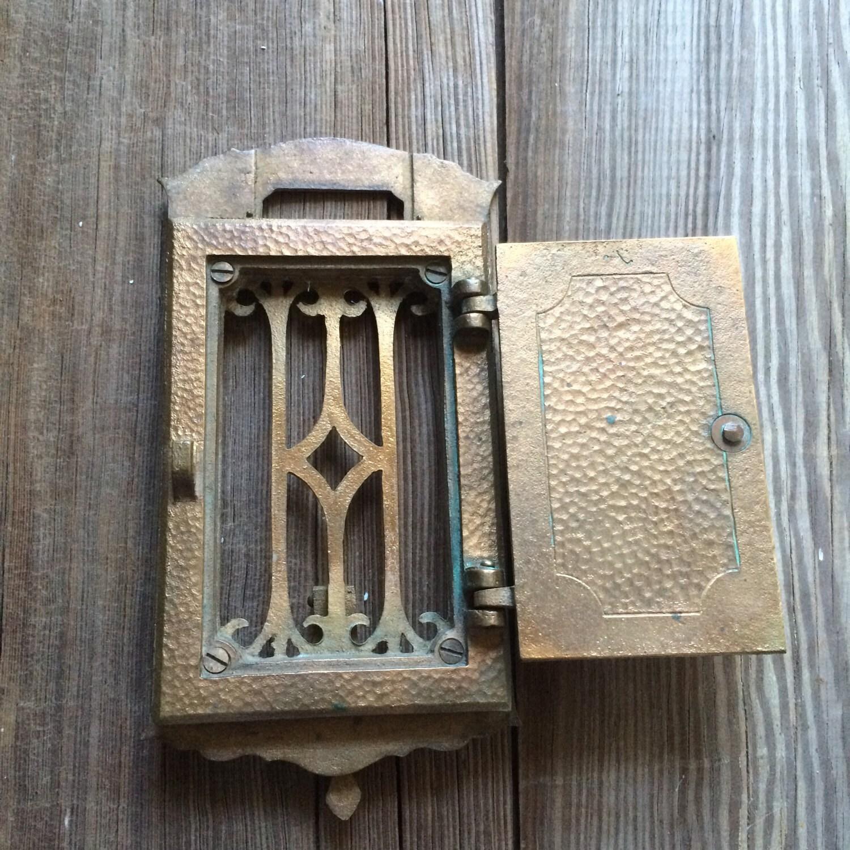 ... Speakeasy Viewer Antique Peephole Hardware. 1