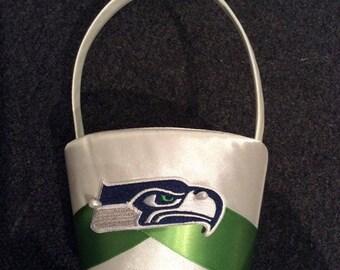 NFL Seattle Seahawks Flower Girl Basket