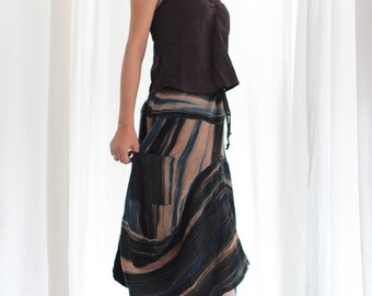Skirt...Natural color dye  hand paint