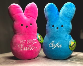 Easter Peeps, Personalized Peeps, Pink Peep, Yellow peep, Blue Peep
