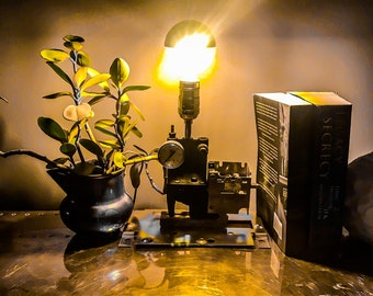 Industrial / Steampunk Table Lamp