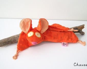 Mouse blankie - Mouse security blanket - Stuffed Animal - Baby Shower Gift - Baby gift