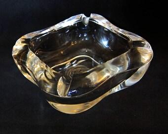 Glass Ash Tray - Vintage