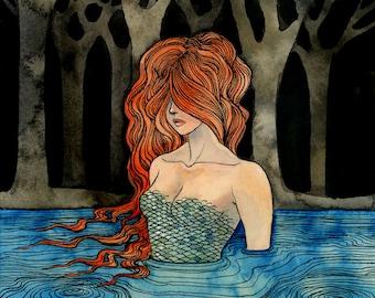 River - 8 x 10 print