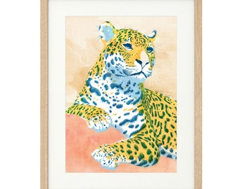 Leopoldo - Leopard - Extra Large - Limited Edition Print