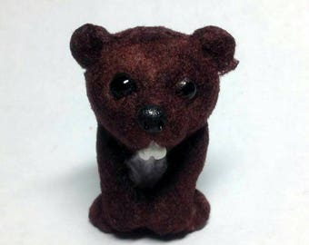 Ooak hand made Beaver by Aaron Matthies