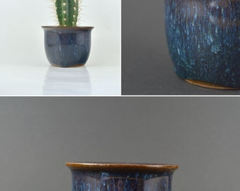 Vintage Cacti Planter, Vintage Pottery Planter, Small Plant Holder, Small Cactus Planter,  Succulent Planter, Ceramic Pot, Succulent Holder