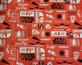 Star Wars Fabric: Empire Silhouettes