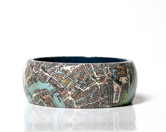 Bracelets Venezia City Map gift wrapping for you gift for travelers