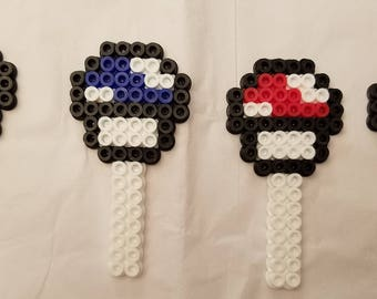 Mario cupcake toppers - Set of 4