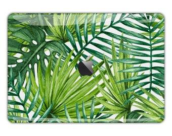 Watercolor flowers MacBook Skin MacBook decal art MacBook sticker leafs MacBook pro decal fern MacBook Air skin MacBook Retina case FS125