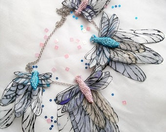 Necklace Dragonflies