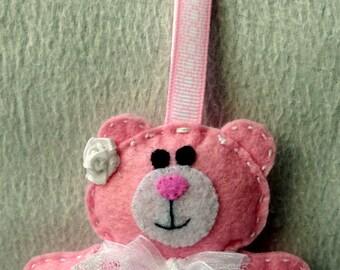 Door keys or bag Teddy bear dancer charm