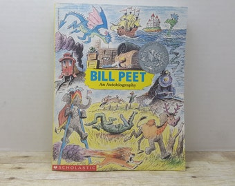 Bill Peet, An Autobiography, 1989, vintage kids book, kids book author