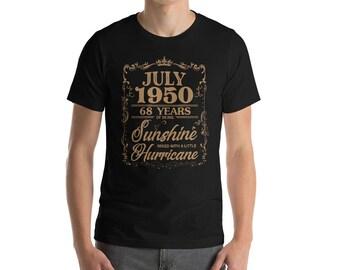 July 1950 68 Years of Being Sunshine Hurricane T-Shirt