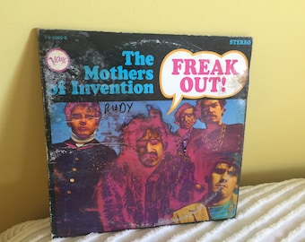 Mothers of Invention Freak Out Double Record Vinyl Album Frank Zappa NEAR MINT condition