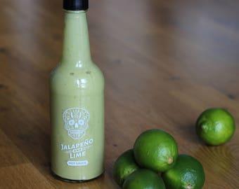 Jalapeño and Lime Hot Sauce