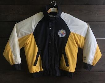 Vintage 90's Steelers Down Jacket