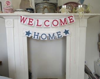Welcome Home Banner Military Welcome Home Sign