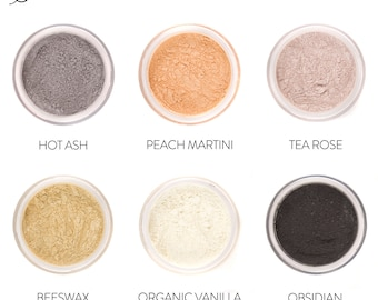 6pc Eyeshadow Set - Mineral Makeup - Your Choice of 5 Sets!