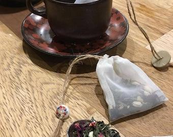 Reusable Silk Tea Bags
