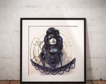 Her Cosmic Web Poster
