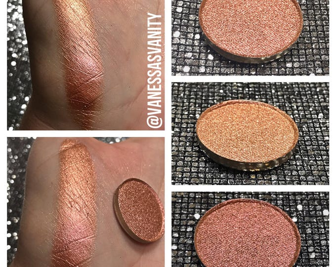 AUBURN SUNRISE - Pressed Eyeshadow Pigment - Chameleon color shifting orange gold red pink