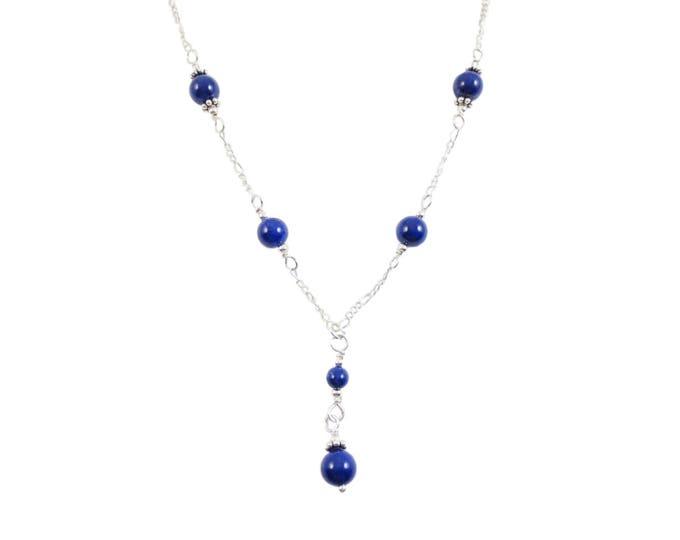 Lapis Lazuli Necklace - 6mm