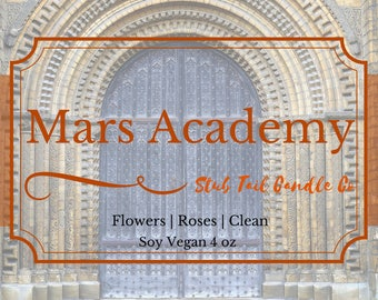 Mars Academy - Soy Scented Candle Inspired by Red Rising