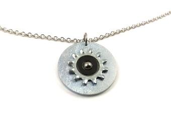 Hardware Pendant Necklace Black Hardware Jewelry
