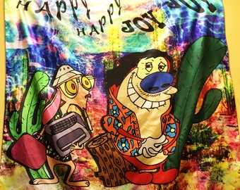 Fear And Loathing, And Stimpy Funny Tapestry