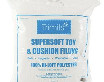 Soft Polyester Toy and Cushion Stuffing 250g