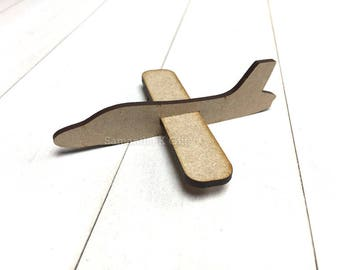 Wooden mini put together plane - Ideal for party bags or stockings