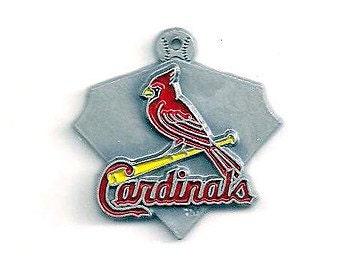 St Louis Cardinals Baseball Charm