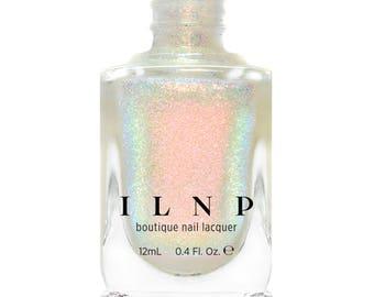 Limitless - Vivid Pink, Bright Green Iridescent Topper Nail Polish