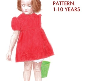 PDF Costume Pattern - The Fancy Dress and Bloomers Cosplay Costume PDF Pattern 4 Ponyo, Princesses, Stranger Things, Party Dresses, Eleven,