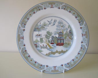 "Wedgwood, Bone China, Made in England, 'Chinese Legend' 27cm, 10"" Plate"