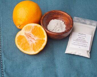 1oz KIDS ORANGE  Vegan Organic Fluoride Free Remineralizing Tooth Powder